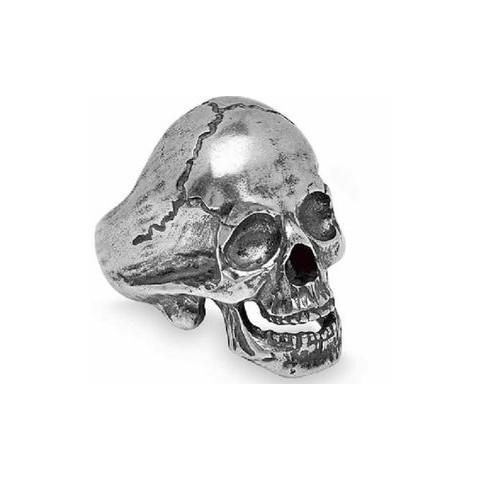Anillo Skull Plata de Palo